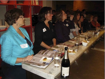 At the Women in Wine event